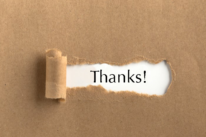 Thank You - Gifting happiness with Employee recognition