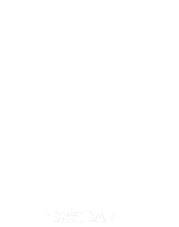 Orange program white logo